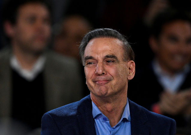 Miguel Ángel Pichetto, precandidato argentino a la vicepresidencia del partido Juntos por el Cambio