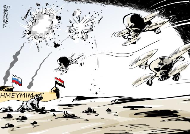 Los drones siguen atacando sin éxito la base rusa en Siria
