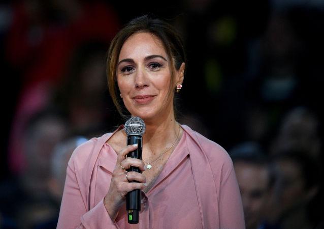 María Eugenia Vidal, gobernadora de la provincia argentina de Buenos Aires