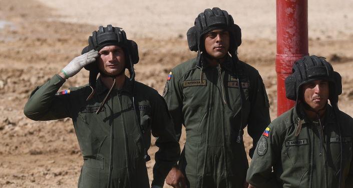 Los militares venezolanos en los Army Games 2019