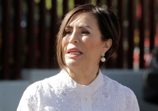 Rosario Robles, la extitular de las carteras de Desarrollo Social y Desarrollo Agrario