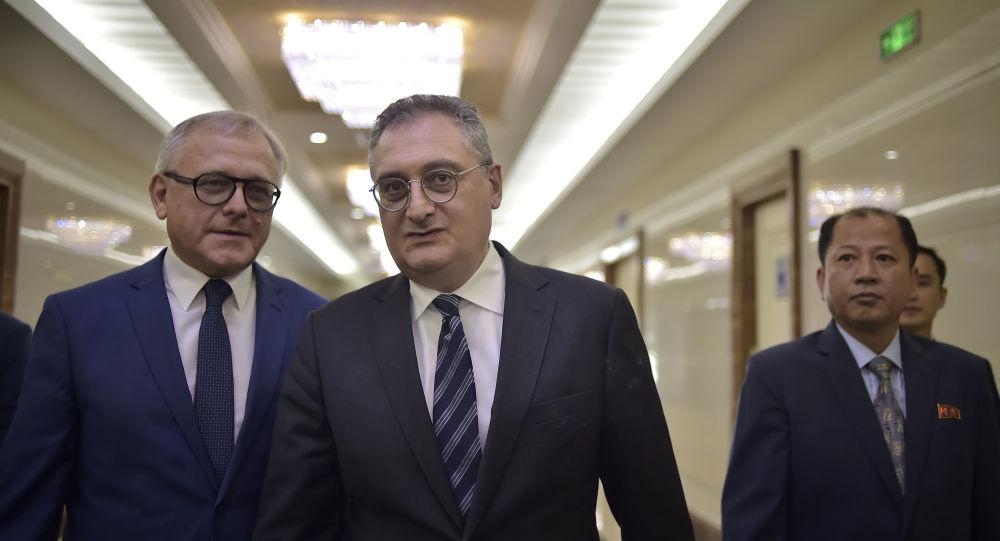 El viceministro de Exteriores ruso, Ígor Morgúlov, llega a Pyongyang