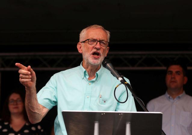 Jeremy Corbyn, líder de la oposición en el Reino Unido (archivo)