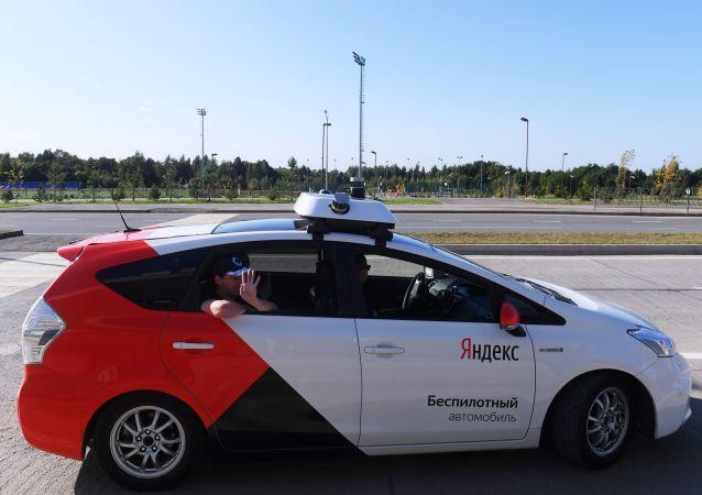 Taxi no tripulado en Innopolis (Archivo)