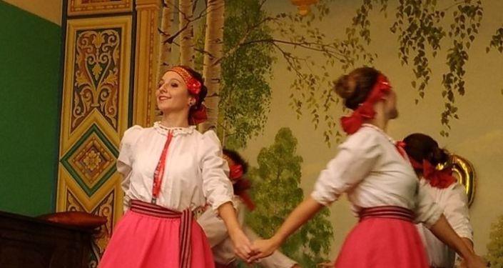 Baile en el Centro Cultural Máximo Gorki de Uruguay