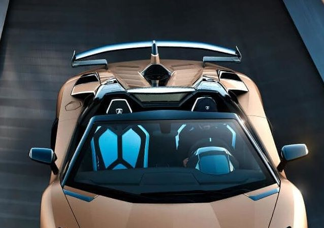 El Aventador SVJ Roadster de Lamborghini