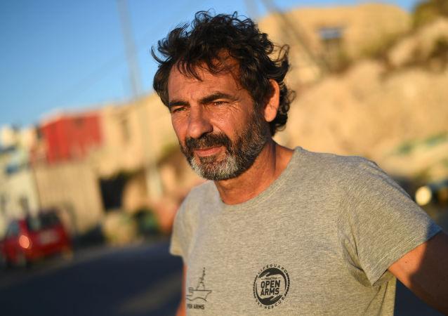 Òscar Camps, fundador de la ONG española Open Arms