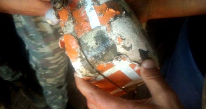 Caja negra del MiG-29 siniestrado de la Fuerza Aérea de Azerbaiyán