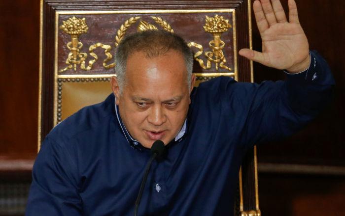 Cabello tilda de manipulación noticia de reunión secreta con EEUU en Caracas