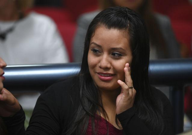 Evelyn Hernández, joven salvadoreña recién absuelta luego de tres años presa por un parto extrahospitalario