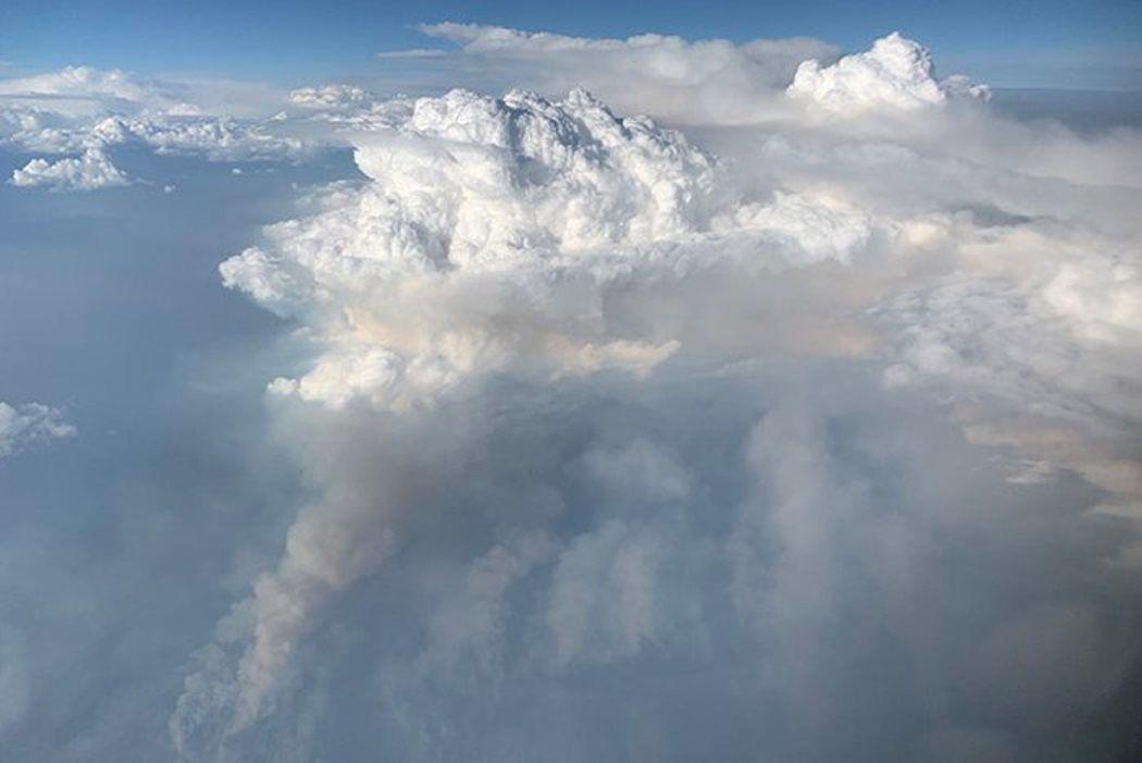 Una nube de fuego sobre EEUU