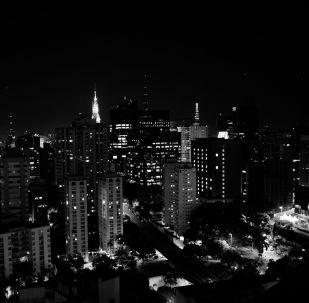 Sao Paulo de noche, referencial