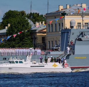 La corbeta rusa Gremiaschi