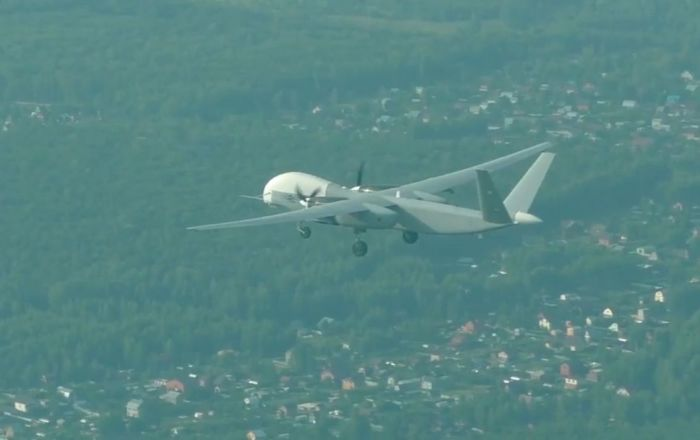 El dron ruso Altius-U alza el vuelo por primera vez