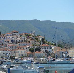 La isla griega de Poros