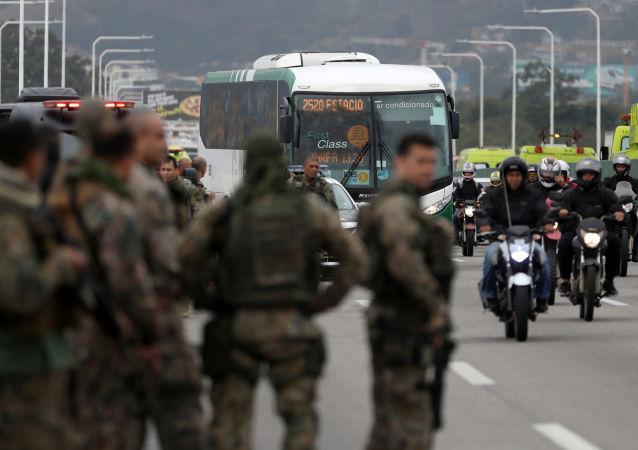 Operativo policial contra secuestrador de autobús en Brasil