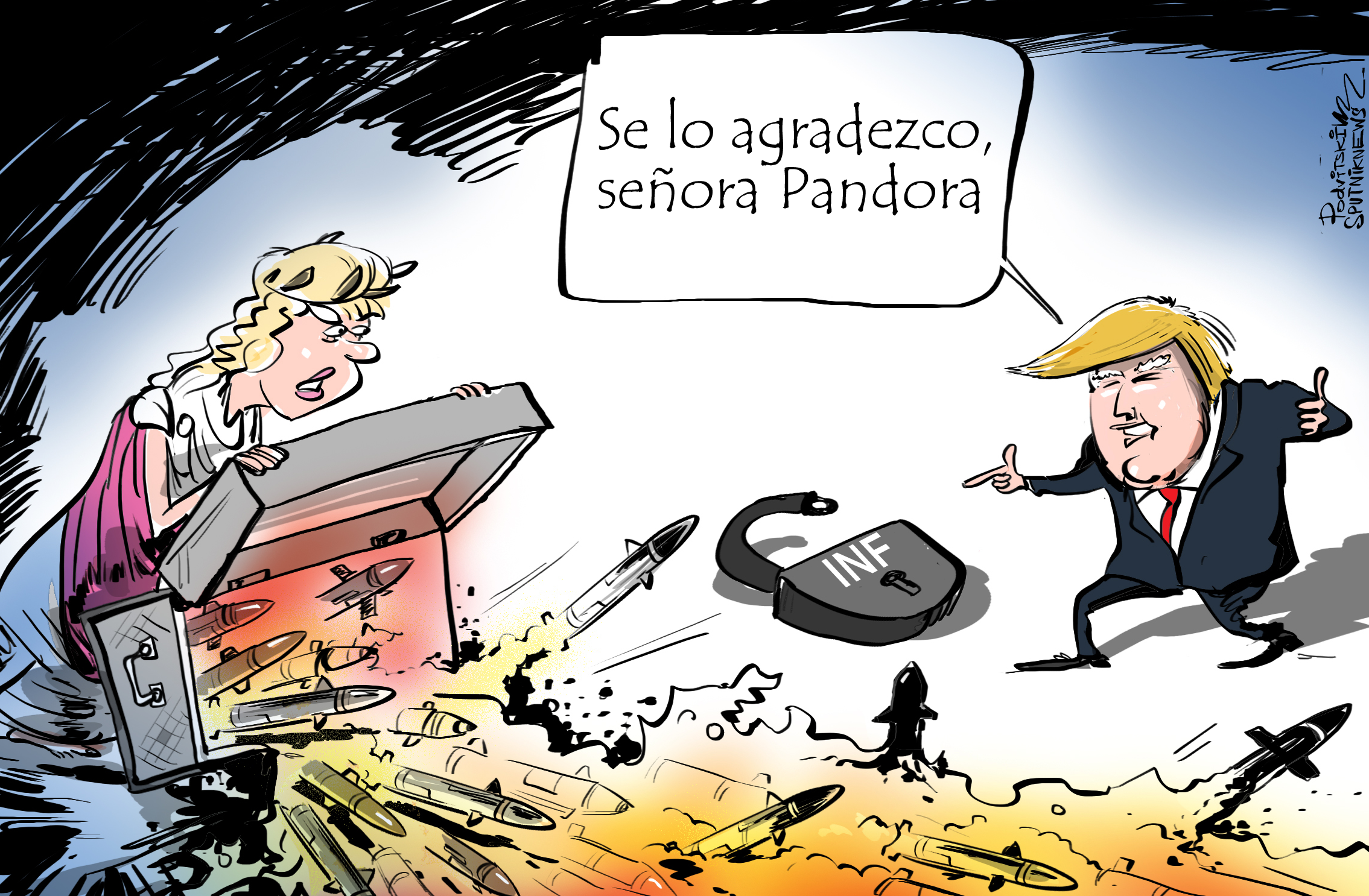 EEUU abre la caja de Pandora con su prueba de un misil de crucero