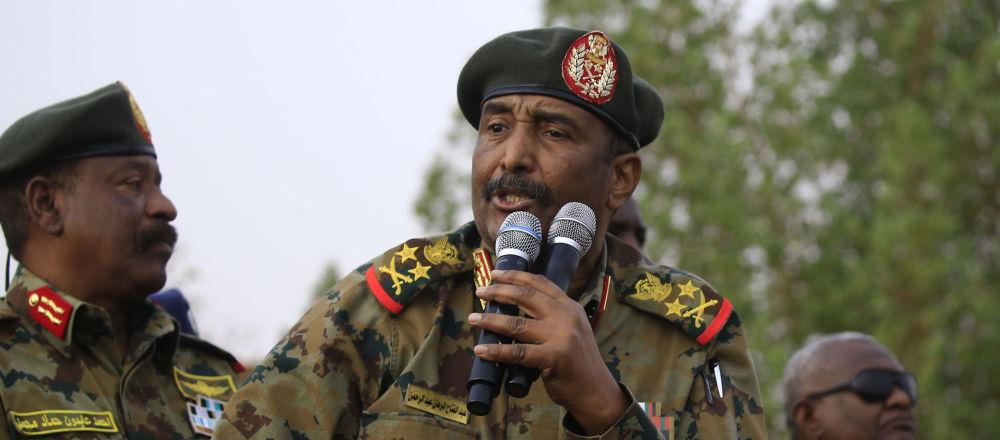 Abdul Fatah Burhan, jefe del Consejo Soberano de Sudán