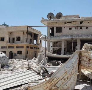 Desolación total: lo que queda de una ciudad siria tras la retirada de los terroristas