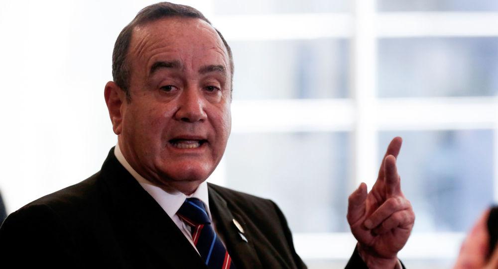 Resultado de imagen para presidente electo de Guatemala, Alejandro Giammattei.