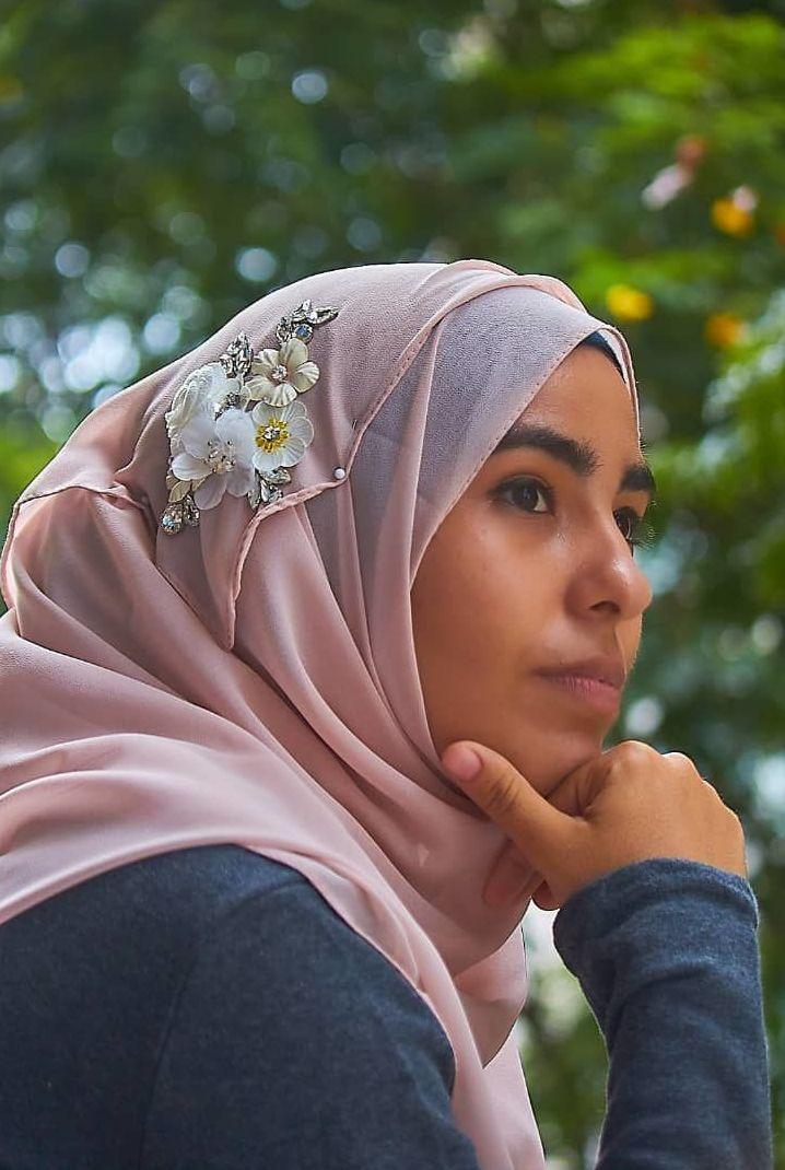 Maryam Camejo, comunicadora de Firdaus, un bazar para la moda islámica en Cuba
