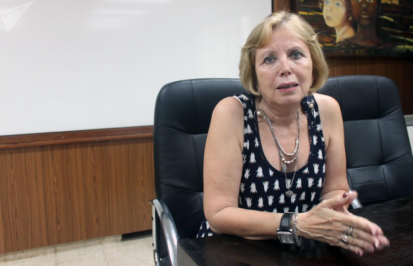 Doctora Guadalupe Guzmán, jefa del Centro de Investigación, Diagnóstico y Referencia del Instituto de Medicina Tropical Pedro Kourí, de La Habana