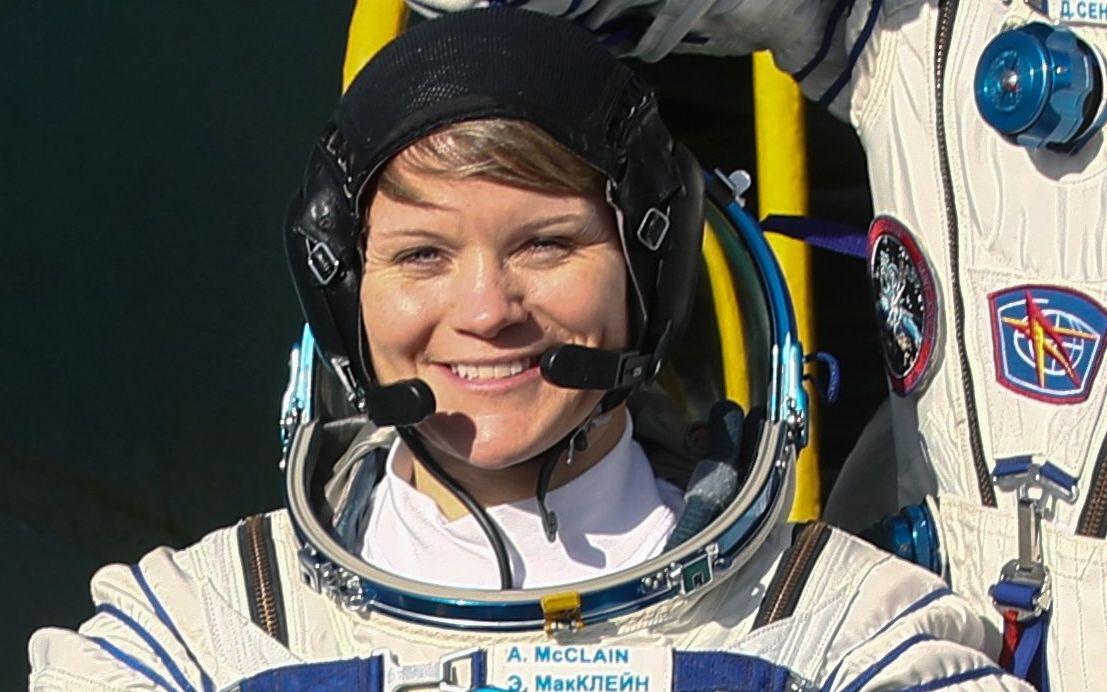 Anne McClain, la astronauta estadounidense