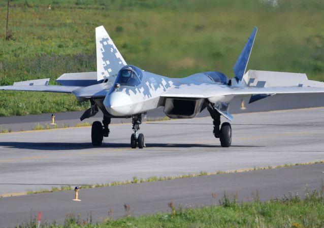 Caza ruso Su-57