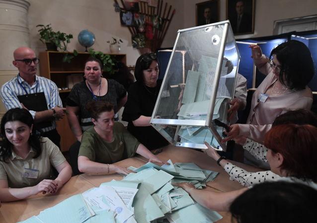 Las elecciones presidenciales en Abjasia