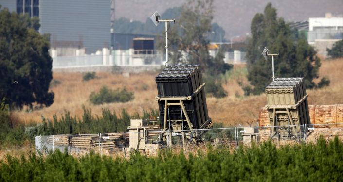 El sistema antimisil israelí en la frontera con Líbano