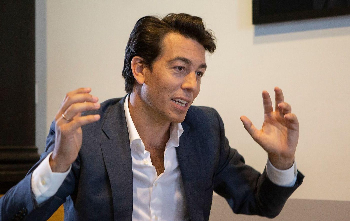 Juan Sartori, candidato al Senado de Uruguay