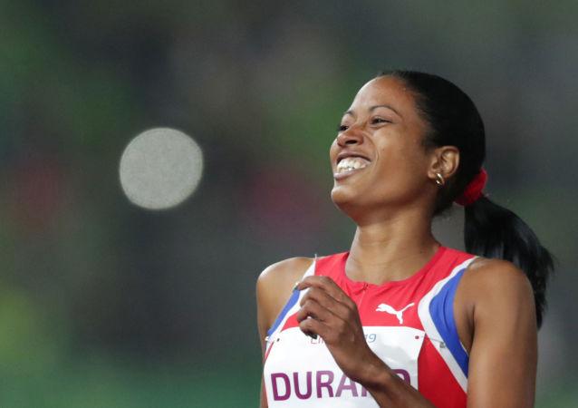 Omara Durand, velocista cubana