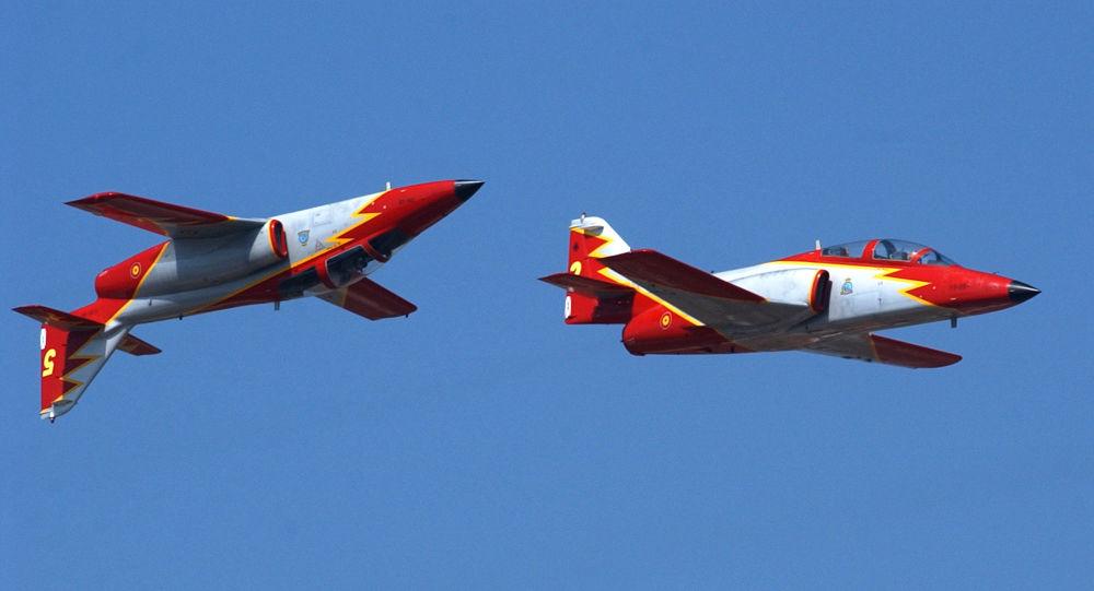 Los aviones del modelo C-101 (imagen referencial)