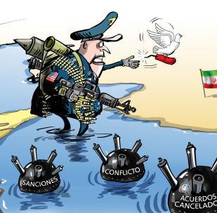 El discurso del jefe del Pentágono, ¿una 'paloma de paz' para Irán?