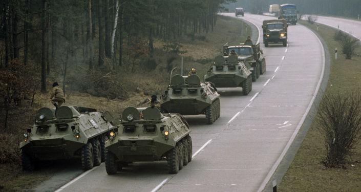 Cómo fue la retirada de las tropas soviéticas de Alemania