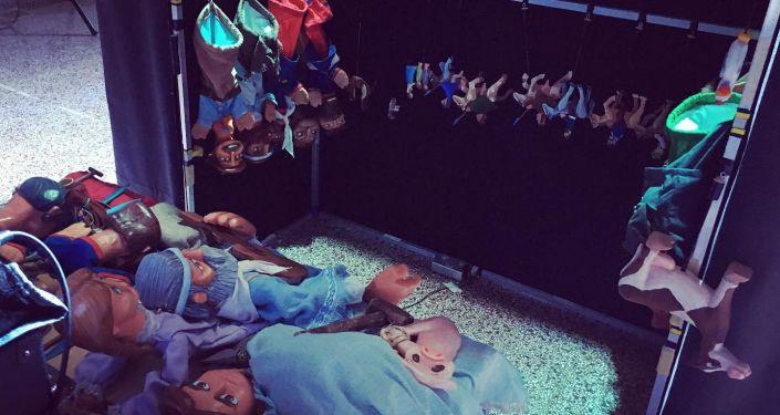 Alquimia Títeres de Argentina, únicos representantes de América Latina en festival de títeres en Rusia
