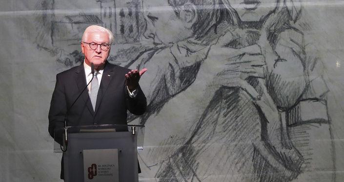 Frank-Walter Steinmeier, presidente de Alemania en el 80 aniversario del primer bombardeo nazi en Polonia