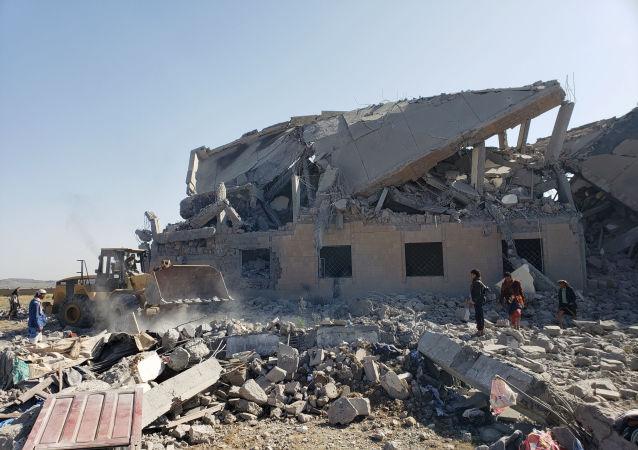 Bombardeo de una cárcel en Yemen