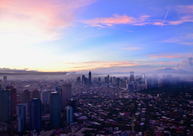 Manila, la capital de Filipinas