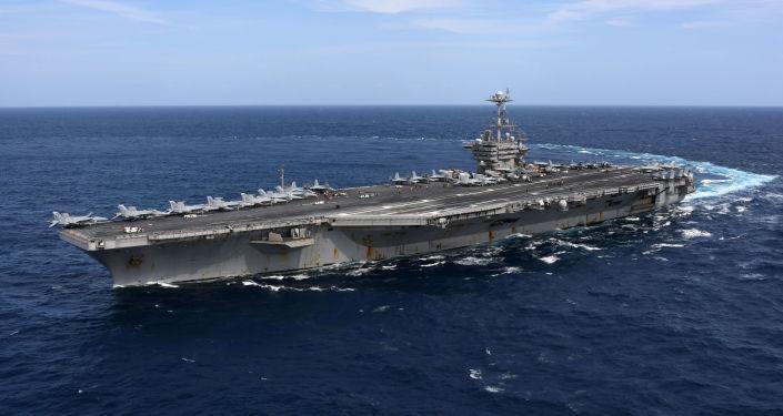 El portaviones USS Harry S. Truman (CVN-75) de la Armada de Estados Unidos