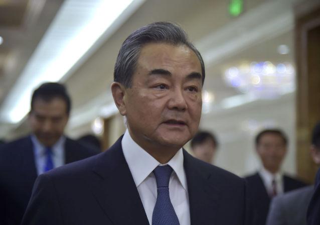 El ministro de Exteriores chino, Wang Yi
