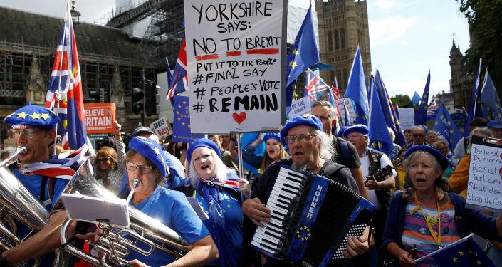 Protestas en Londres, Reino Unido