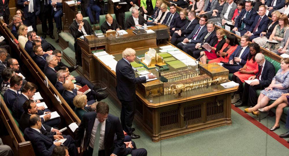 Boris Johnson, jefe del Gobierno del Reino Unido