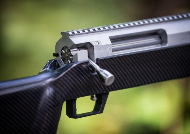 Un fusil de francotirador