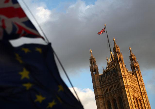 El Palacio del Parlamento en Londres