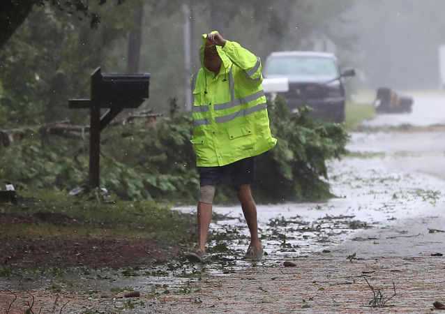 La situación en Carolina del Norte, EEUU