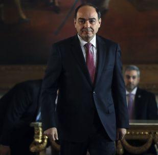 Antonio Rivas, canciller de Paraguay