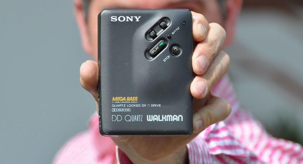 Sony Walkman, imagen de archivo