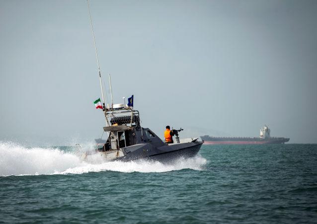 La Guardia Costera de Irán