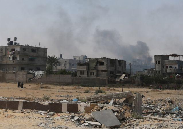 Franja de Gaza (Archivo)